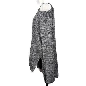 torrid Sweaters - TORRID MARLED KNIT SPLIT NECK SWEATER